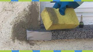 Fassade Renovieren putz ausbessern teil 1