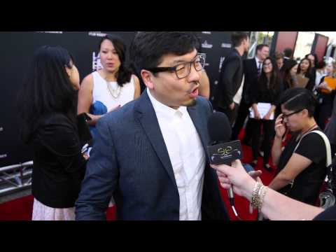 2015 Los Angeles Film Festival - Carpet Chat with Benson Lee