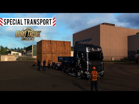 Special Transport DLC İnceleme (First Look) - Euro Truck Simulator 2