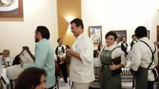Ceremonia de clausura  #ConviteGourmet #Campeche