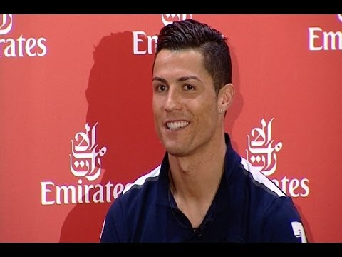 Cristiano Ronaldo, the new global ambassador of Emirates