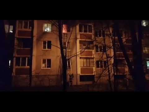 Пожар на Владимира Невского в Воронеже
