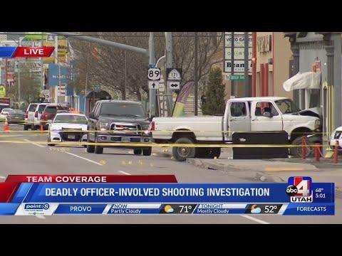 Police shoot, kill suspect following Salt Lake County crime spree (5 p.m.)