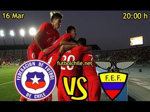 Chile* (1) vs Ecuador (0) – Sudamericano Sub 17 - Partido Completo - 16/03/2017