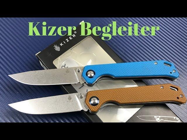 Kizer Begleiter Vanguard Series Knife   Another solid offering from Kizer !