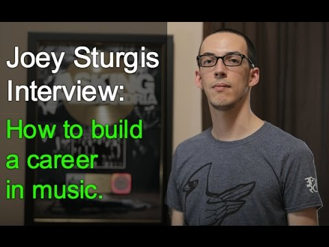 Joey Sturgis Interview: How to build a career in music - Warren Huart: Produce Like A Pro