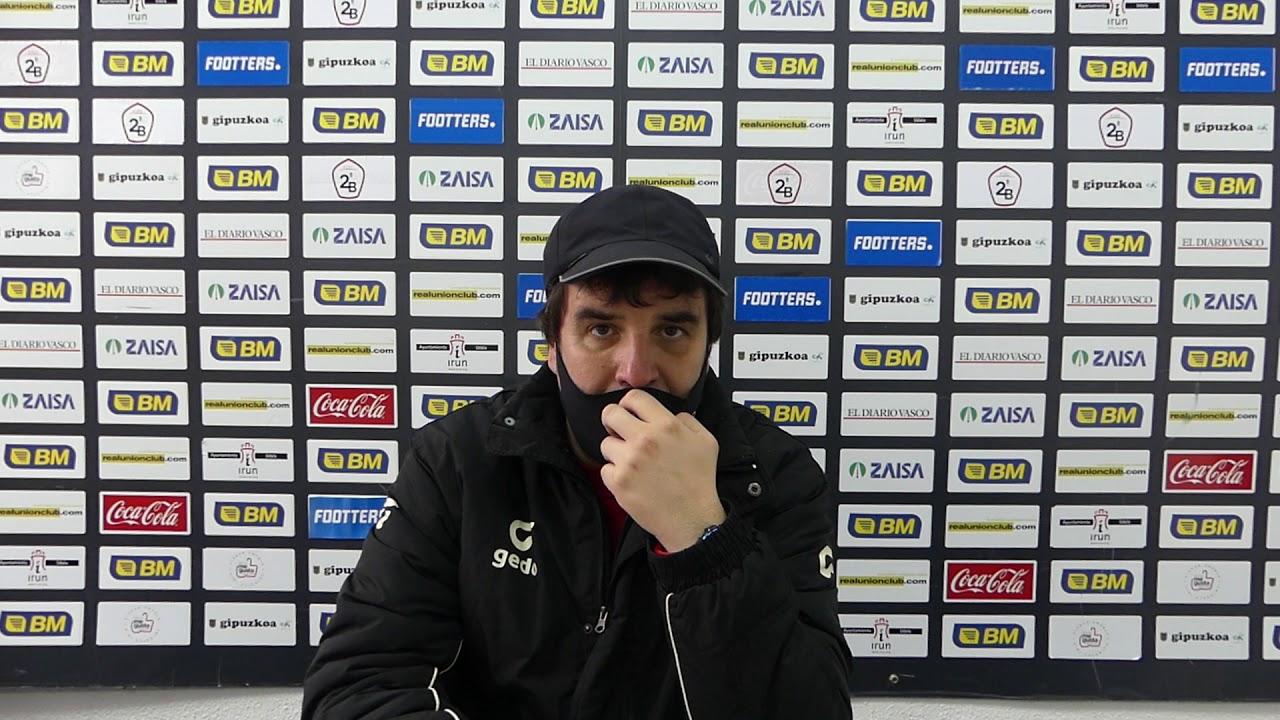 Jornada 15. Aitor Zulaika, previa del partido Real Unión-CD Laredo