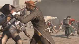 AC3: Tyranny of King Washington - The Redemption - Mission 3 - Parting of the Blue Sea [100% Sync]