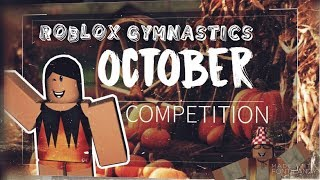 Roblox Gymnastics October Competition (Short and Funny Clips)