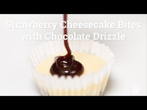 What's For Dinner - Mini Strawberry Cheesecake Bites Recipe