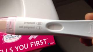 Live First Response Pregnancy Test