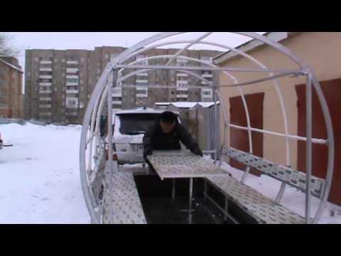 Прицепы бортовые для перевозки снегоходов, прицепы для