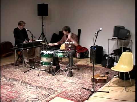You Dont Love Me Yet Performance - Mikael Jorgenson and Glenn Kotche
