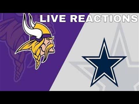 The Dallas Cowboys Vs Minnesota Vikings | Live Reactions & Analysis