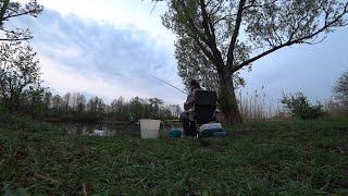 С ночевкой на реке в ожидании леща Рыбалка на фидер весной