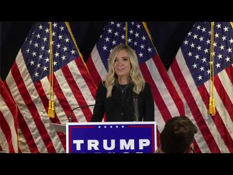 LIVE: Press Conference with Kayleigh McEnany and RNC Chairwoman Ronna McDaniel