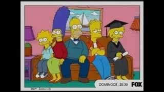 Los simpsons Temporada 23 latino trailer des