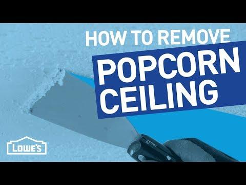 How Do I Remove Popcorn Ceiling? | Beyond The Basics