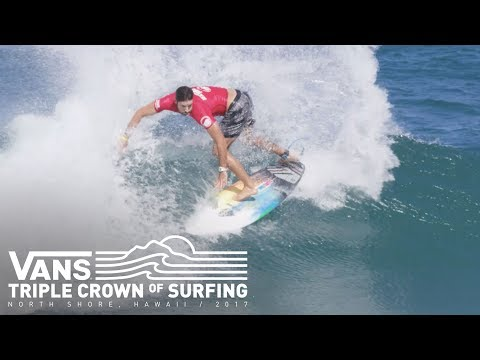 Hawaiian Pro 2017: Day 1 Highlights  Vans Triple Crown of Surfing  VANS