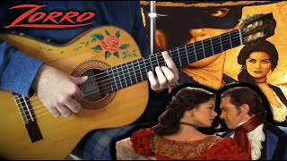 『Spanish Tango』(The Mask of Zorro) meet flamenco gipsy guitarist【movie ost guitar cover fingerstyle】