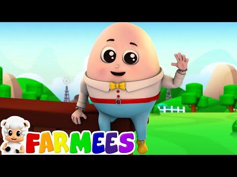 Humpty Dumpty | Humpty Dumpty Nursery Rhyme | Dumpty Humpty | Baby Rhymes by Farmees S01E73