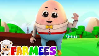 Humpty Dumpty  Humpty Dumpty Nursery Rhyme  Dumpty Humpty  Baby Rhymes by Farmees