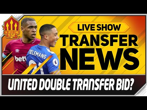 Tielemans & Issa Diop Bids Made? Man Utd Transfer News