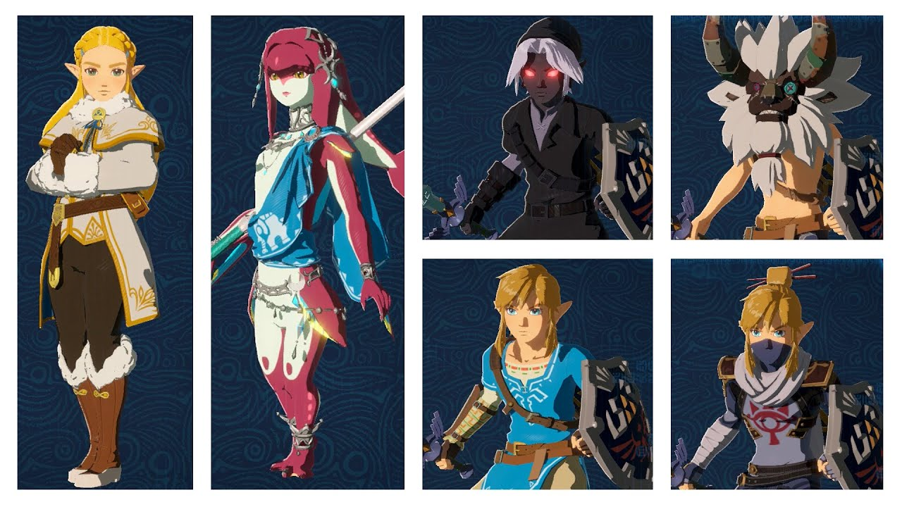 Hyrule Warriors Age Of Calamity All Costumes Spoilers Youtube