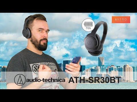 70 ЧАСОВ МУЗЫКИ ✓ Audio-Technica ATH-SR30BT ✓ Обзор беспроводных наушников