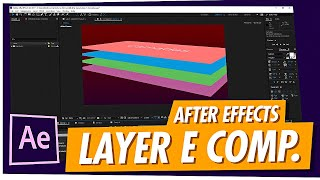 [Le COURS] - Introduction à After Effects pour le #Class2. -, Les Compositions de Calques et Propriétés