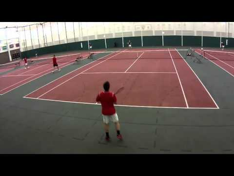St. Lawrence  Men's Tennis vs Union College 4/2/16
