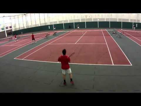 St. Lawrence  Men's Tennis vs Union College 4/2/16
