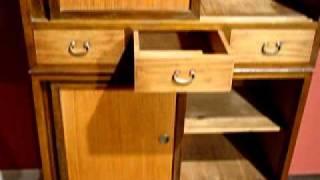 Kuraya Japanese Kitchen Cabinet Mizuya Tansu.mpg