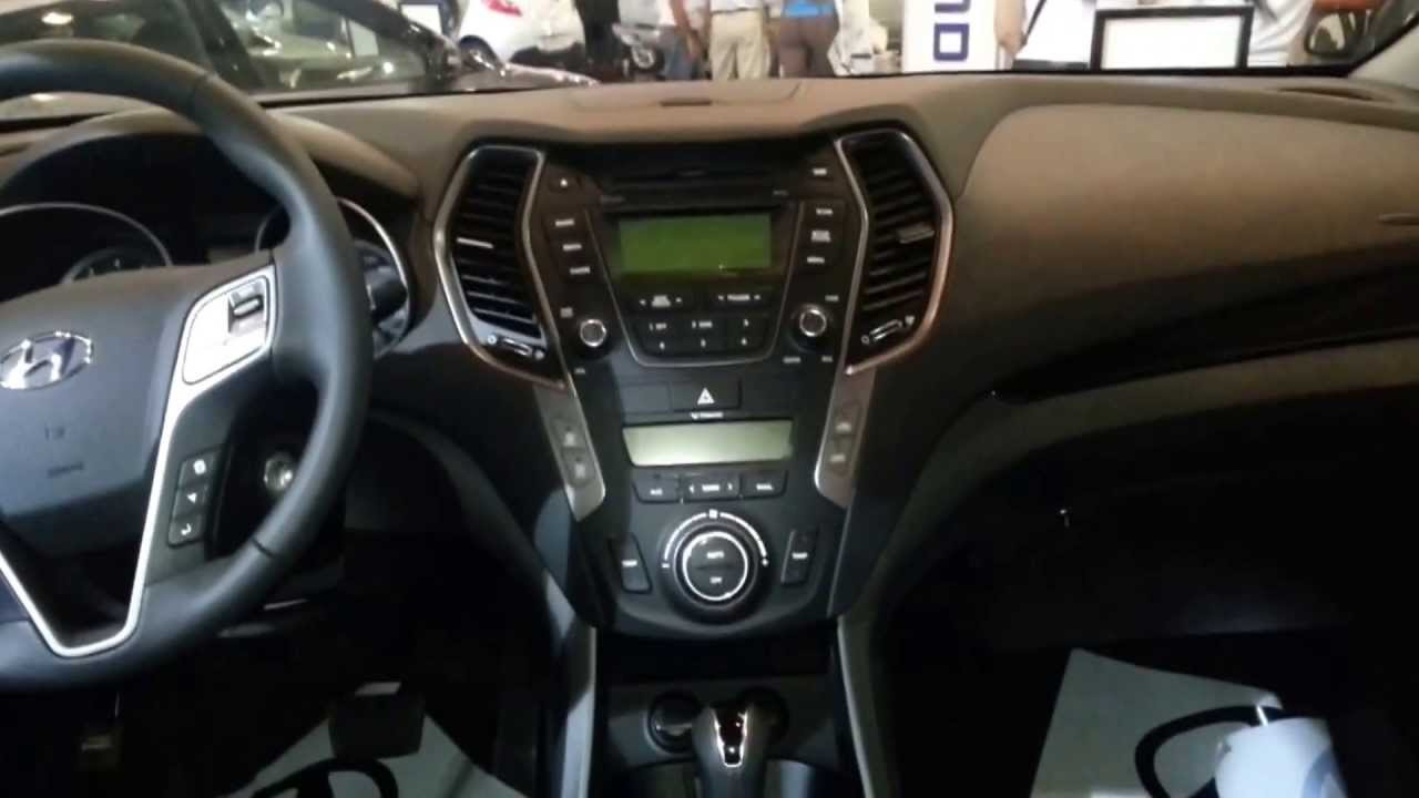 Interior Nueva Hyundai Santafe 2014 Versi N Para Colombia Full Hd Youtube