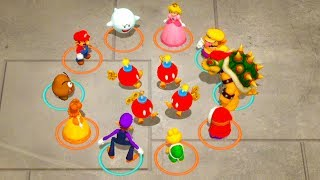 Super Mario Party - Mario Vs Peach Vs Bowser Vs Waluigi (Master COM)