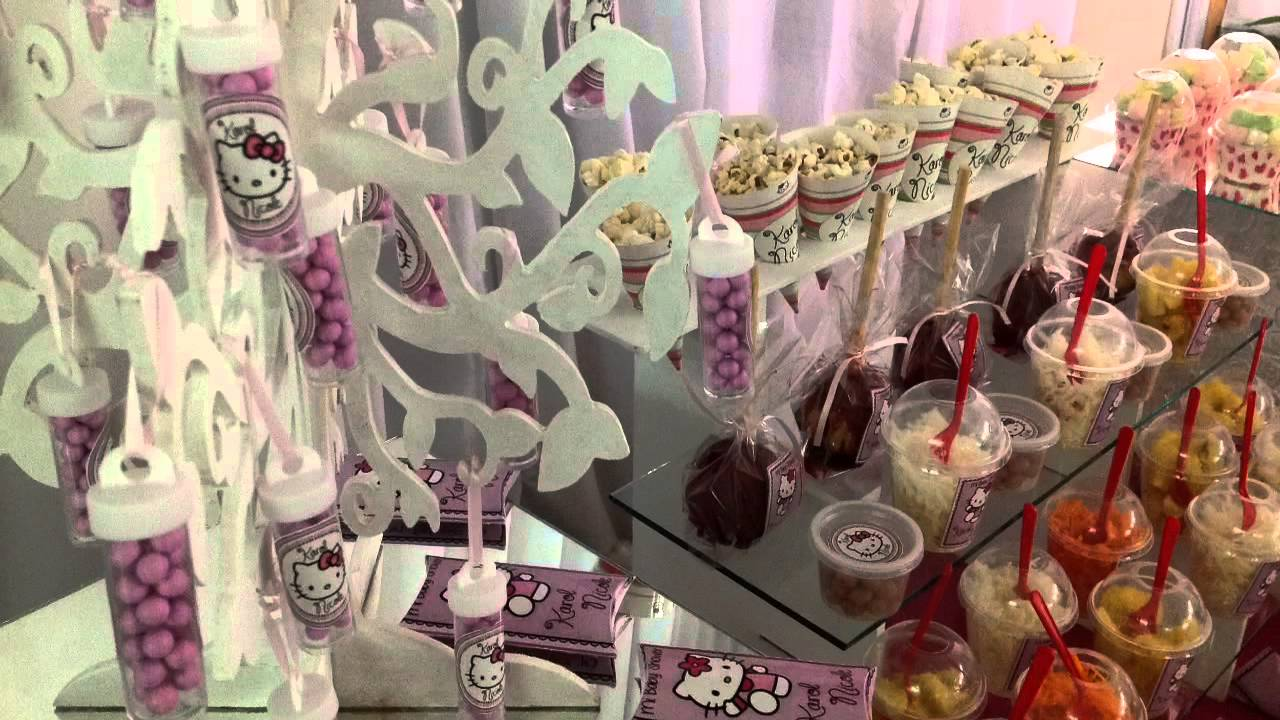Mesa de dulces baby shower Karol Nicole  YouTube