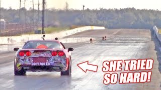 The Auction Corvette Attempts a 10 SECOND PASS! (Boosted Junkyard Engine)