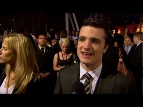 Josh Hutcherson - The Hunger Games Premiere Interview