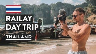 JOURNÉE À LA PLAGE DE RAILAY, EST-ELLE SURÉVALUÉE? ☀️ | Voyage En Thaïlande Vlog | À Partir De Ao Nang, Krabi