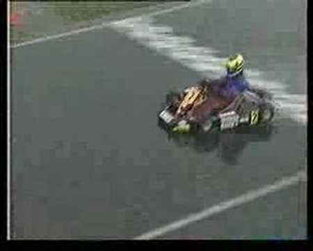 LEWIS HAMILTON - Karting - Larkhall 1998