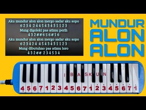Not Pianika Mundur Alon Alon Youtube