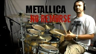 METALLICA - No Remorse (mobile link in description) - Drum Cover