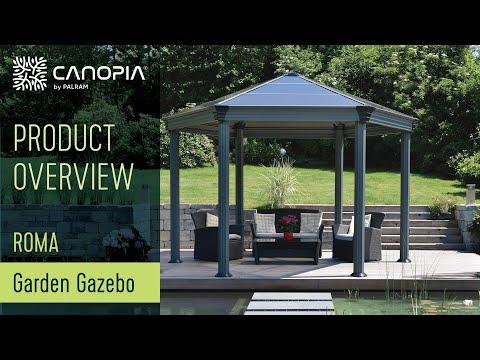 Palram Roma™ Garden Gazebo   Enjoy Your Garden Year Round