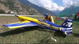 Aerobatic Extra 330 SC X-treme 3D flight Show Airtistica Raron 2016