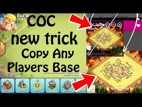 (HINDI)  Clash Of Clans New Trick Copy Any Players Base