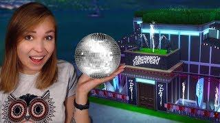 ПОСТРОИЛА СВОЙ НОЧНОЙ КЛУБ! [The Sims 4. Строительство]