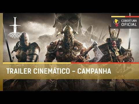For Honor: Trailer Cinemático - Campanha [E3 2016]