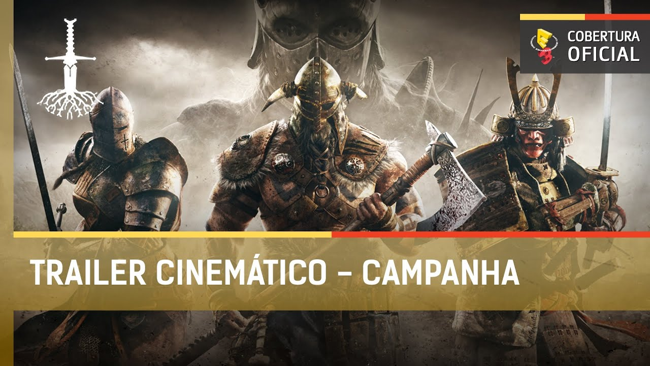 For Honor: Trailer Cinemático (Legendado) Campanha