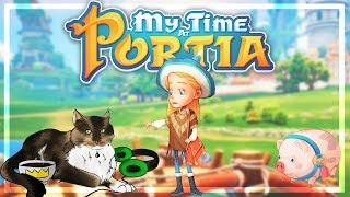 🔴 MY TIME AT PORTIA : découvrons le jeu ! #1 (Bobow morning)