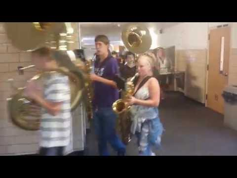 2016-09-02 Richland County High School Marching Band
